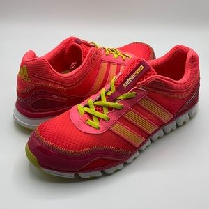 Adidas Hot Pink & Yellow Climacool Sneaker Shoes